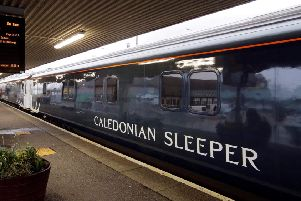 The Serco Sleeper carriage will join other historic carriages showcasing steam's heyday in Bo'ness. Picture: Caledonian Sleeper/Porterbrook