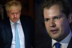 """Boris Johnson insisted Britain will pack its bags and walk out on October 31, however Robert Jenrick said the Government has """"no plan"""" for what might happen if Parliament blocks this. Pictures: Getty Images"""
