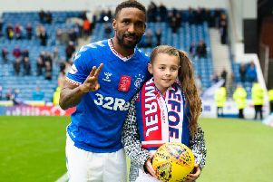 Jermain Defoe displayed a selfless gesture on Sunday after his hat-trick against Hamilton as he picked out a young Rangers fan and gave her the match ball and his home strip following the 5-0 win. (Daily Record)