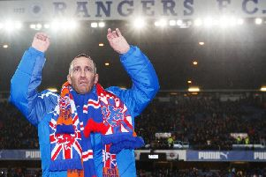 Fernando Ricksen was a player for Rangers for six years. Picture: PA