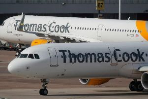 Passengers who had booked holidays with Thomas Cook were struggling to submit refund claims after the website crashed.