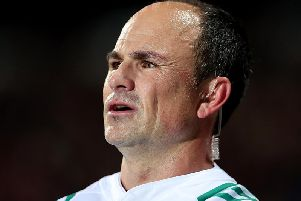 In the chain of events leading to Japan's late bonus point against Samoa on Saturday, referee Jaco Peyper's decision to penalise a squint put in at the scrum provoked most surprise. Picture: Getty Images