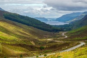 A view of Loch Maree from Glen Doherty - part of the North Coast 500 scenic route around the north coast of Scotland. Picture: Getty Images