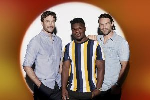 Former Scotland international Thom Evans will join fellow pros Levi Davis and Ben Foden as act Try Star on the new series of the X Factor. Photo: Syco / PA Wire