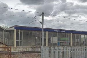The incident happened at Rutherglen station. Picture: Google