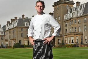 The restuarant of renowned chef Andrew Fairlie, who died earlier this year, is recognised again in the Michelin guide. Picture: Robert Perry
