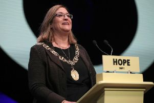 Lord Provost of Glasgow, Eva Bolander, is facing calls to resign after details of her shopping spees were made public.