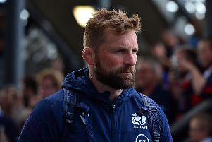 John Barclay is back as Scotland captain tomorrow in the vital Pool A clash against Russia in Shizuoka. Picture: Getty Images