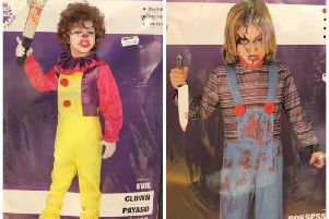 The shop has come under fire for selling controversial child-sized horror costumes. Picture: Submitted