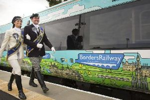 The Borders Railway was re-opened as far as Tweedbank in September 2015. Picture: VisitScotland