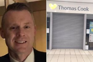 Paul Morgan who used to manage Thomas Cook in Cameron Toll shopping centre