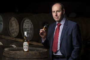 Stephen Rankin of Gordon & MacPhail, which reduced the carbon footprint of its Benromach Distillery in Forres by 40 per cent