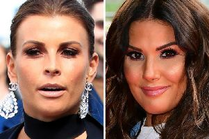 Coleen Rooney (left) has accused Rebekah Vardy (right) of leaking information from her private Instagram account