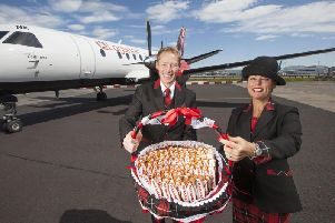 Loganair praised easier global travel for Scots under the new agreement. Picture: Contributed