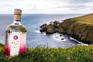 Shetland Distillery Company produces Shetland Reel gin at the most northerly distillery in the UK. Picture: Contributed