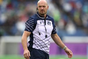 Gregor Townsend is hopeful that Scotland's huge match against Japan will go ahead in Yokohama on Sunday. Picture: Getty Images