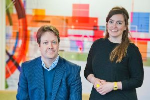 CTO Andrew Pickett and CEO Jude Cook. Picture: Chris Watt
