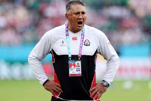 Japan head coach Jamie Joseph.