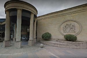 High Court, Glasgow, where the gang was convicted of trafficking women from Slovakia.  Picture: Google