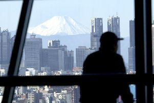 Mount Fuji, seen from Japan's capital Tokyo (Picture: AP)