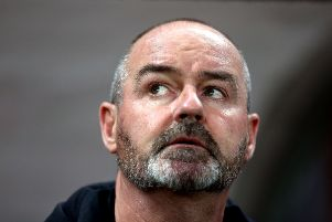 Scotland boss Steve Clarke has now overseen four straight defeats but says he won't shirk the challenge: Picture: Steven Paston/PA