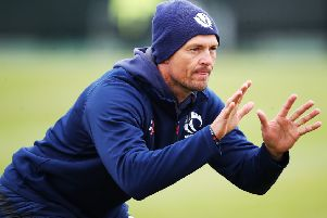 Scotland coach Shane Burger. Picture:  Ian MacNicol/Getty Images