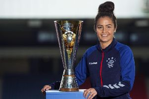 Rangers' Emma Brownlie looks forward to the SSE Scottish Cup semi-final against Glasgow City. Picture: Mark Scates/SNS