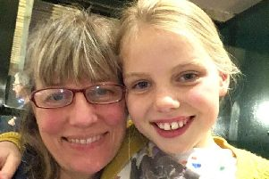 Dr Ruxton with her daughter, Erin.