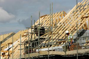 Construction firms in Scotland also saw 3,600 instances of significant or early distress. Picture: Cate Gillon/Getty Images.