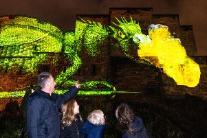 The dragon projection.