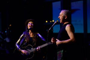 KT Tunstall and Alan Cumming joined forces to promote The Quaich Project at a fundraising gala on Broadway.