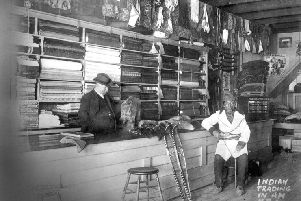 An early Hudson's Bay Company store. Picture: Provincial Archives of Alberta