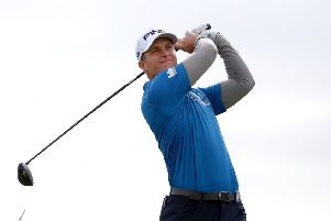 Callum Hill is back on top of the Challenge Tour rankings. Picture. Matthew Lewis/Getty