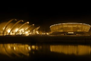 Glasgow, home to the Scottish Event Campus, is the only UK city in the top ten list of global eco-friendly conference venues. Picture: Marc Turner