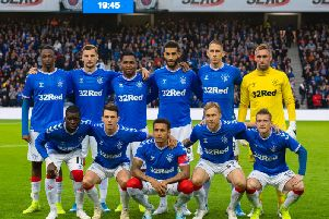 How could Rangers line up to face Hearts?