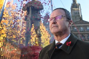 Mark Bibbey is the CEO of Poppyscotland. He spent 30 years as a Royal Marine, retiring in 2010.