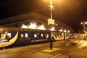 The Caledonian Sleeper. Picture: Andrew Smith