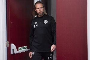 Coach Austin MacPhee has been placed in interim charge of Hearts. Picture: Ross Parker/SNS