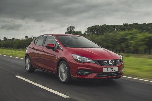 The Astra is nippy off the mark and responsive in the normal speed bands