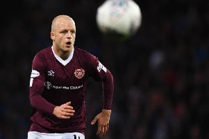 Steven Naismith got valuable game time at Hampden as he stepped up his return from injury but says Hearts need to kick on now