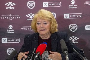 Hearts owner Ann Budge has revealed that she will cast the net wide in her search for a new manager. Picture: SNS.
