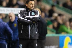 Paul Heckingbottom was in charge of Hibs for 32 matches