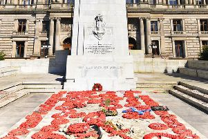 Glasgow's cenotaph was unveiled in 1924. Picture: Shutterstock