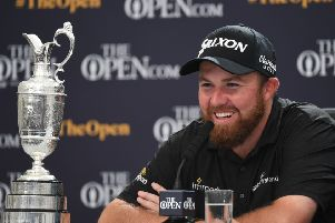 Open champion Shane Lowry is one of the headline names in this week's Turkish Airlines Open in Belek. Picture: AFP/Getty Images