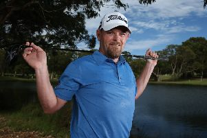 David Drysdale got a late call to play in this week's Turkish Airlines Open. Picture: Paul Kane/Getty Images