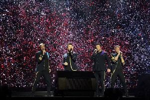 Westlife's 2020 tour will see them hitting arenas across the country. Picture: Westlife