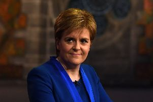 TV bosses seem to think English viewers wouldn't be able to cope with hearing from Nicola Sturgeon (Picture: Jeff J Mitchell/Getty Images)
