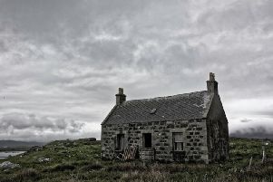 An abandoned croft at South Lochboisdale, South Uist. Work is ongoing to bring such properties back into use for the benefit of the local housing market. PIC: Peter Moore/www.geograph.org.