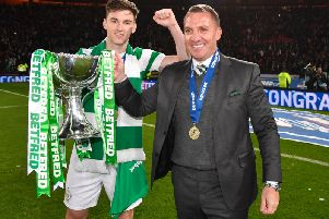 Celtic received a huge amount of money for Kieran Tierney and Brendan Rodgers. Picture: SNS
