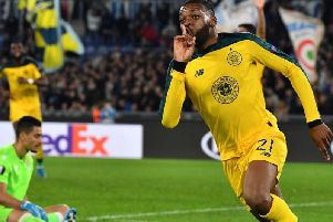 Olivier Ntcham provided a wonderful and memorable winner in Rome. Picture: Getty